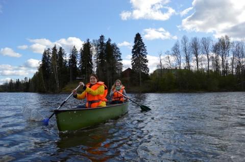 DeCo Camp rowing