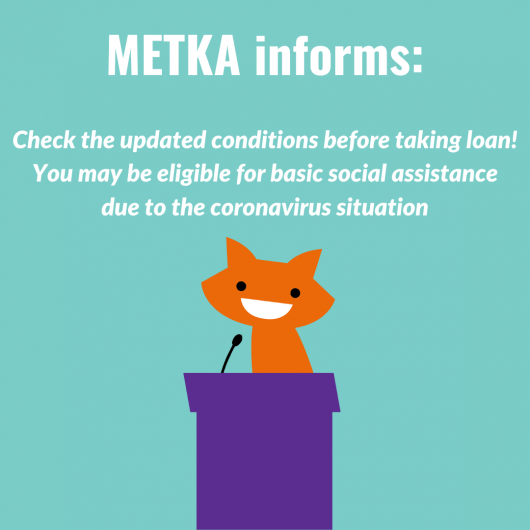 Student! You may be eligible for basic social assistance due to the coronavirus situation – check the updated conditions before taking loan