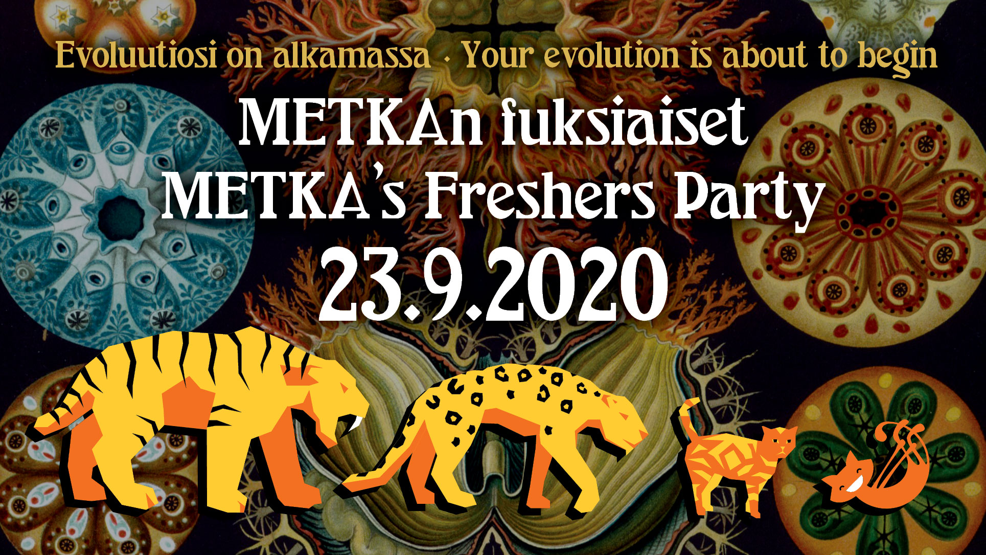 METKA's Freshers Party 2020
