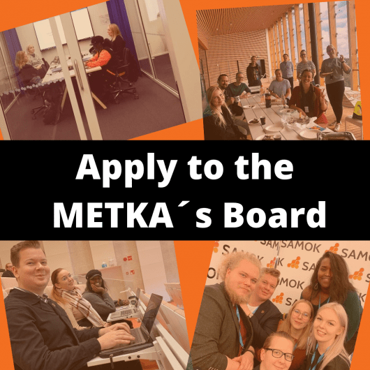 Will you join METKA's Board of Directors in 2021?