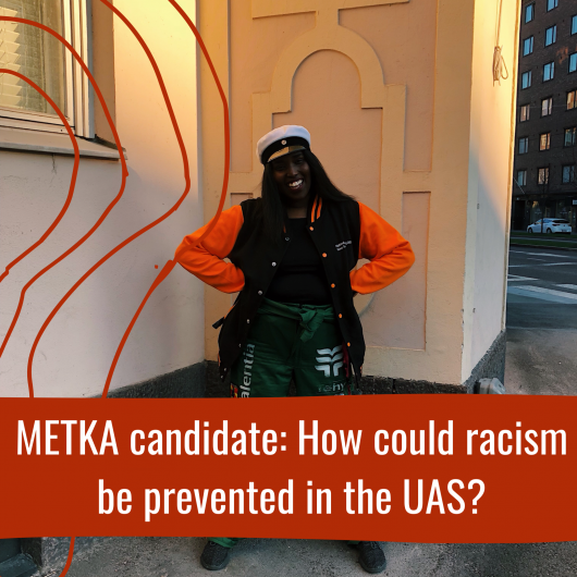 METKA candidate: How could racism be prevented by the university community?