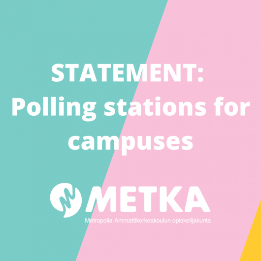 STATEMENT: Polling stations for campuses