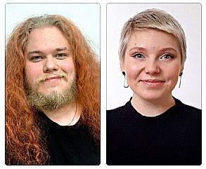 Janne Levänen ja Veera Kaija